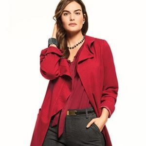 NWT CAbi red jacket